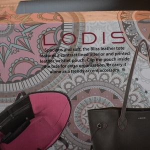 Lodis Bags - Brand New with gift box Lodis Leather Tote Bundle!